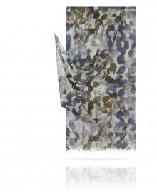 Палантин из тончайшей шерсти Июньский вечер в Париже W40.120-LABITINTHE/GRIS