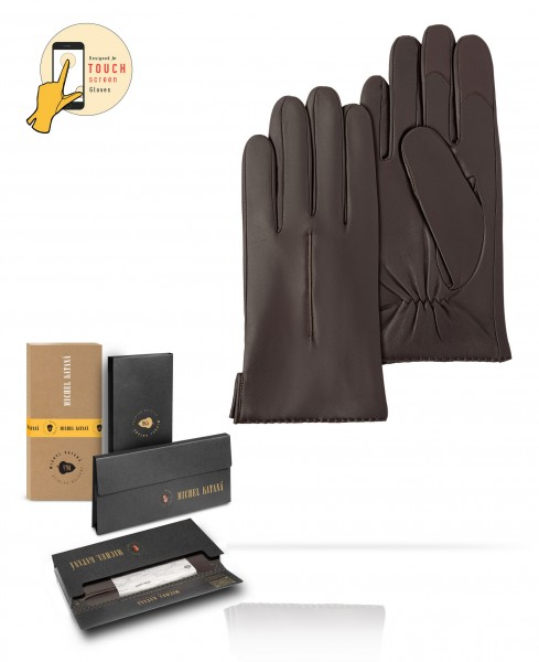 Перчатки Мужские io.K11-NANCY/COFFEE