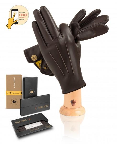 Перчатки Мужские io.K83M-ATHJON/COFFEE